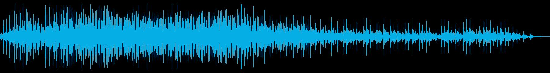 ハーレー系の大型バイク/エンジン効果音4の再生済みの波形