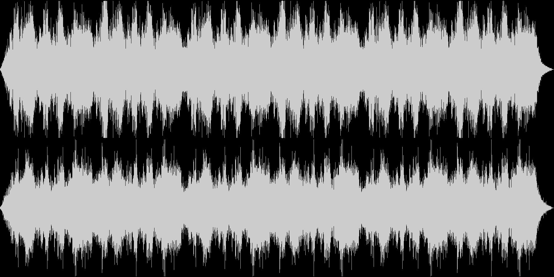 夜の廃墟などで使える汎用性の高い環境音楽の未再生の波形