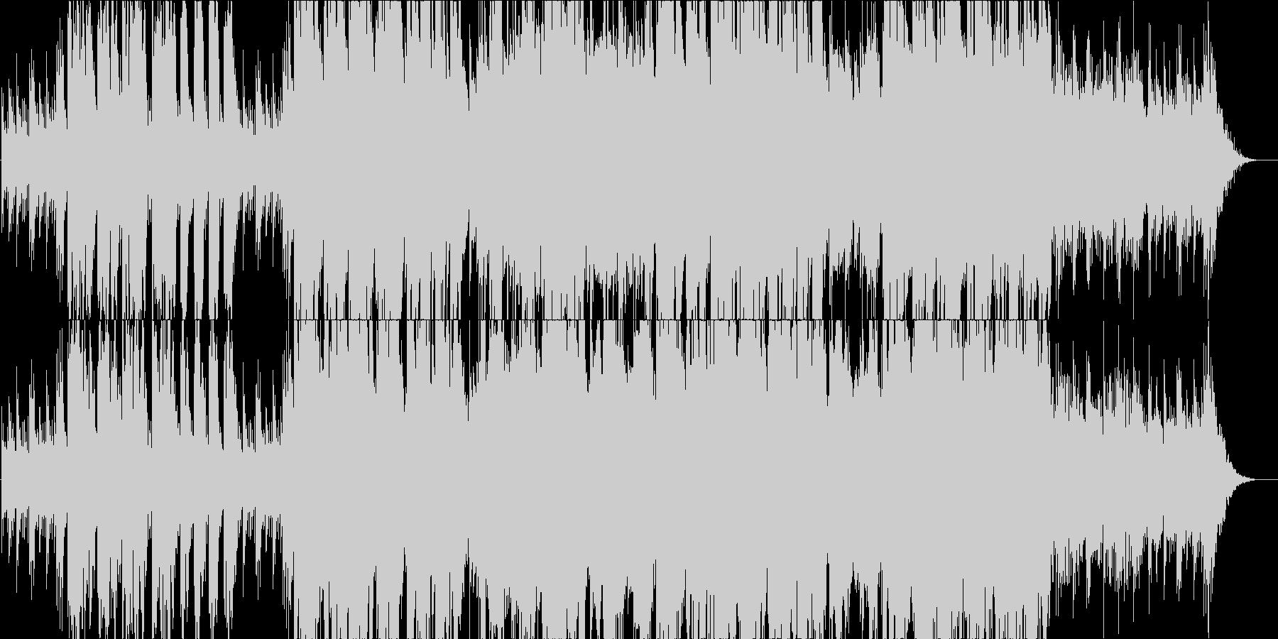 優しい旋律が包み込むフォークバラードの未再生の波形