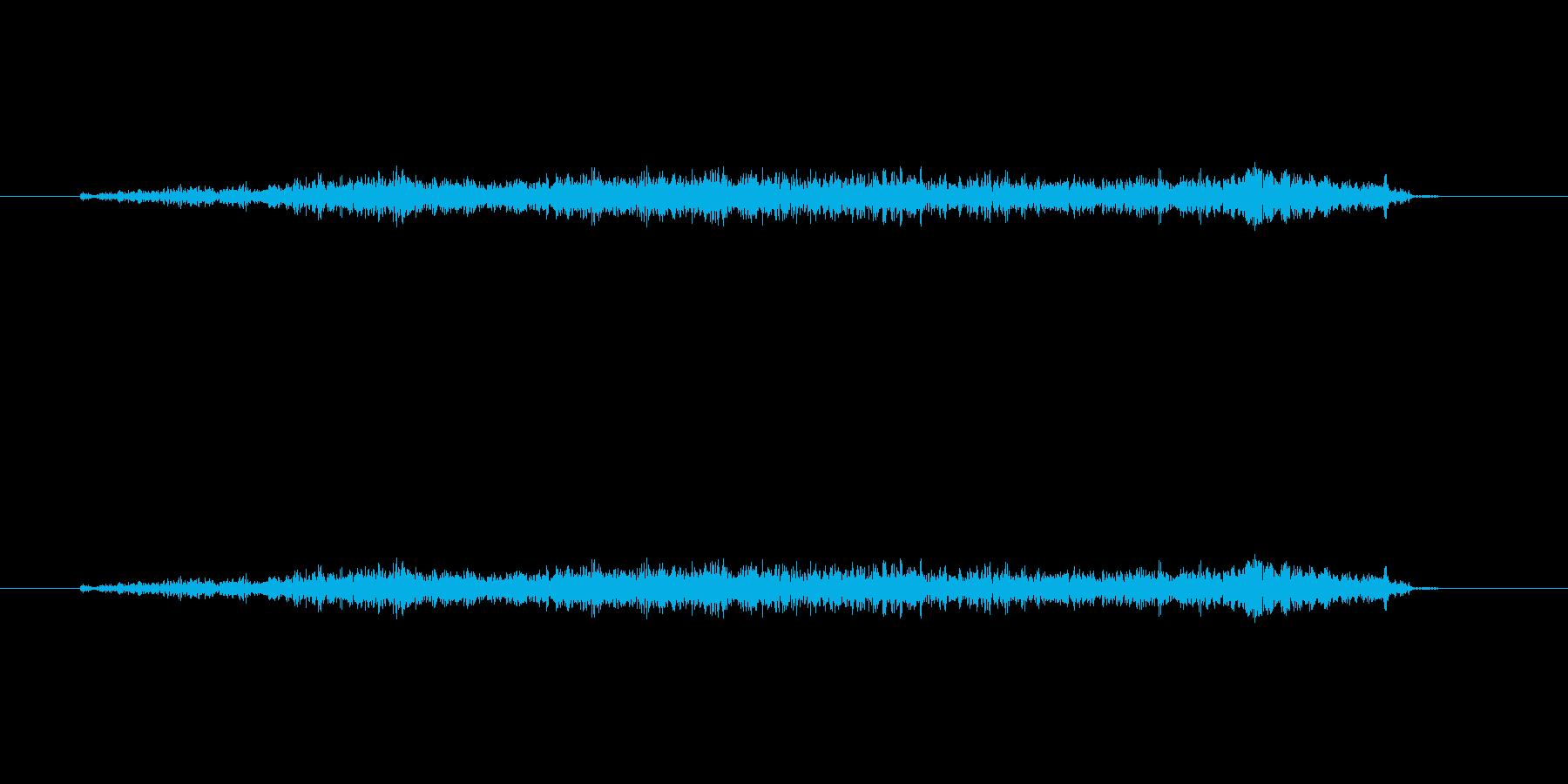 【フェルトペン01-3(直線)】の再生済みの波形