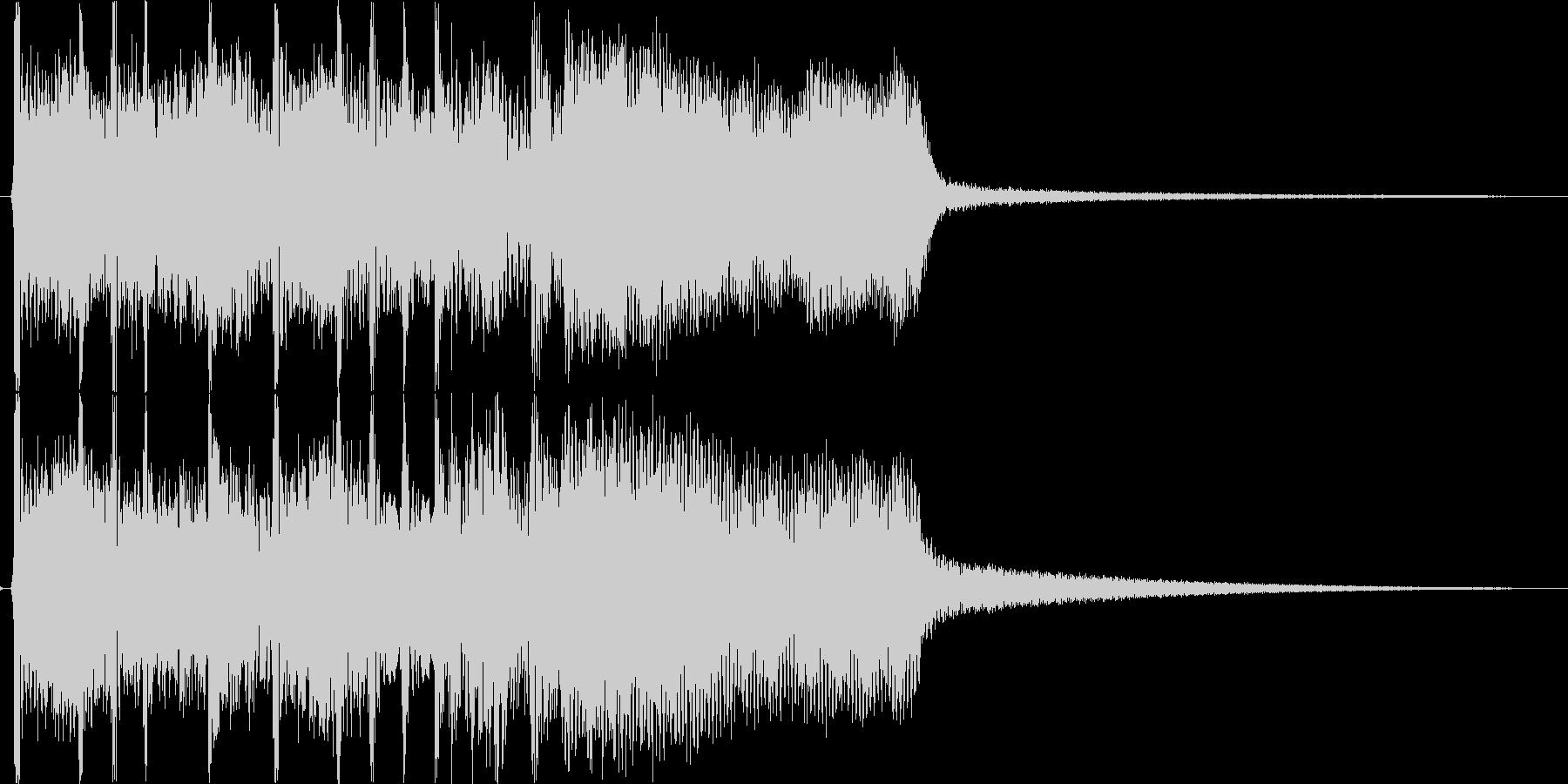 ファンファーレ・ステージクリアの未再生の波形