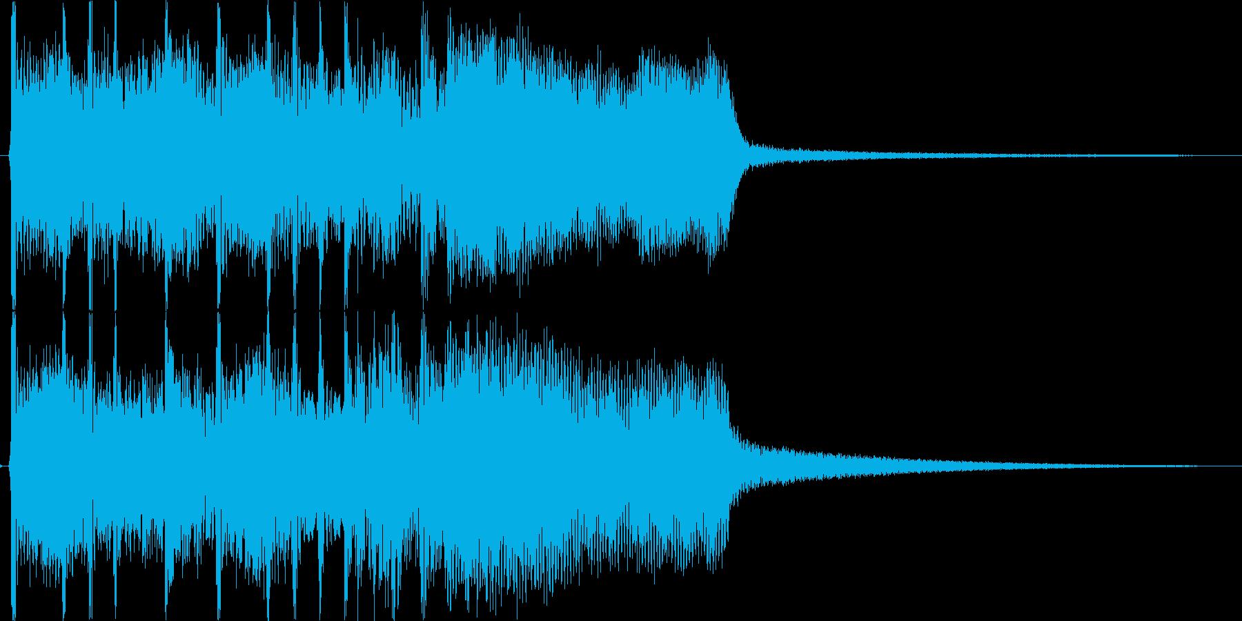 ファンファーレ・ステージクリアの再生済みの波形