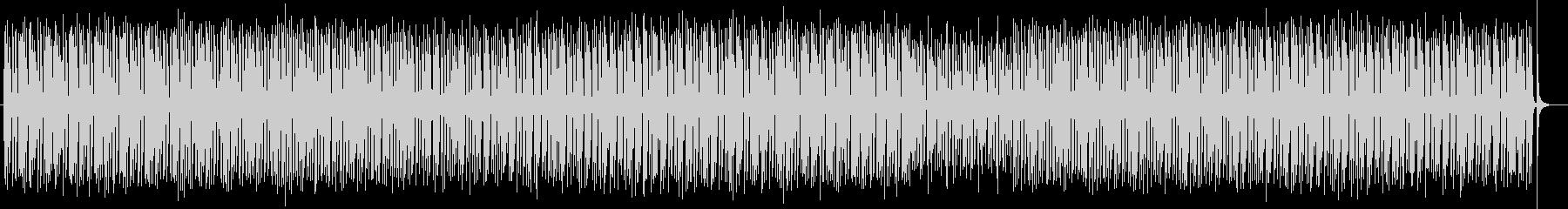 かわいいシンセサイザー電子音の未再生の波形