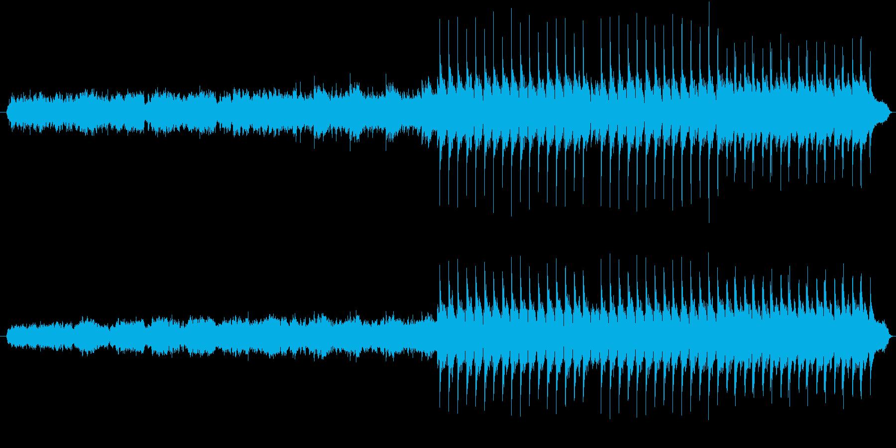 アコギとフルートとピアノの切なげな曲の再生済みの波形