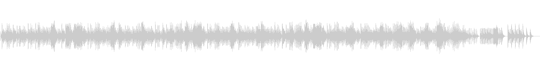 ショパン夜想曲2番のオルゴールの未再生の波形