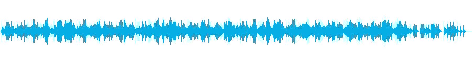 ショパン夜想曲2番のオルゴールの再生済みの波形