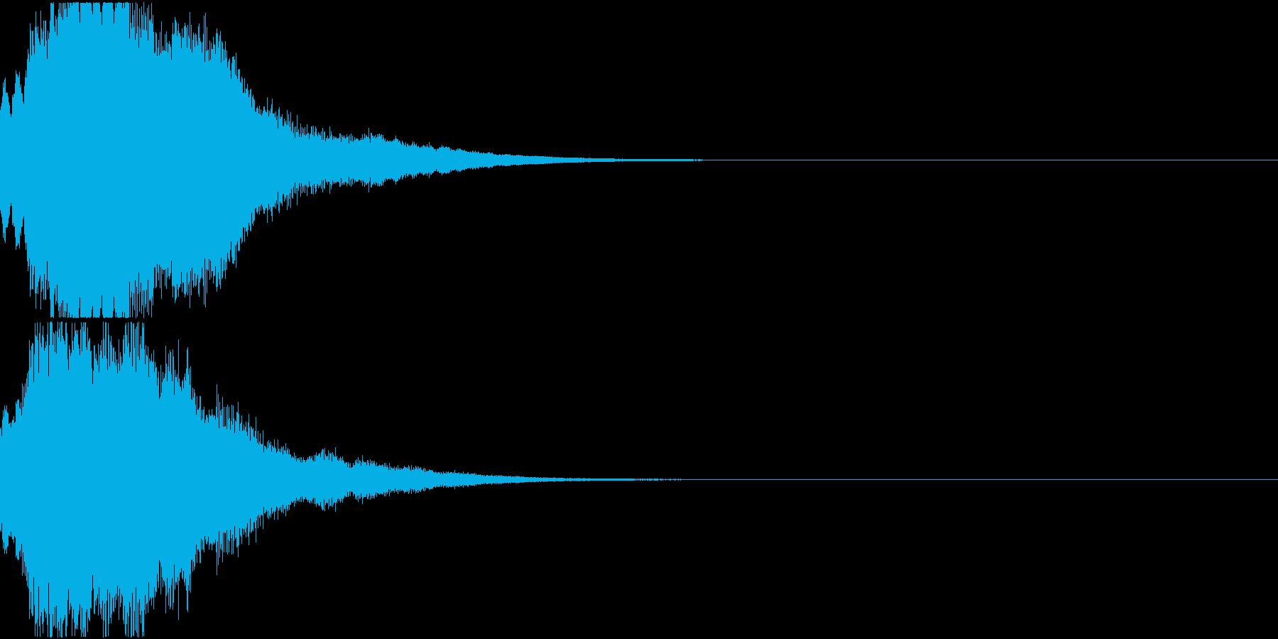 クリスマス ジングルベル キラキラ 06の再生済みの波形