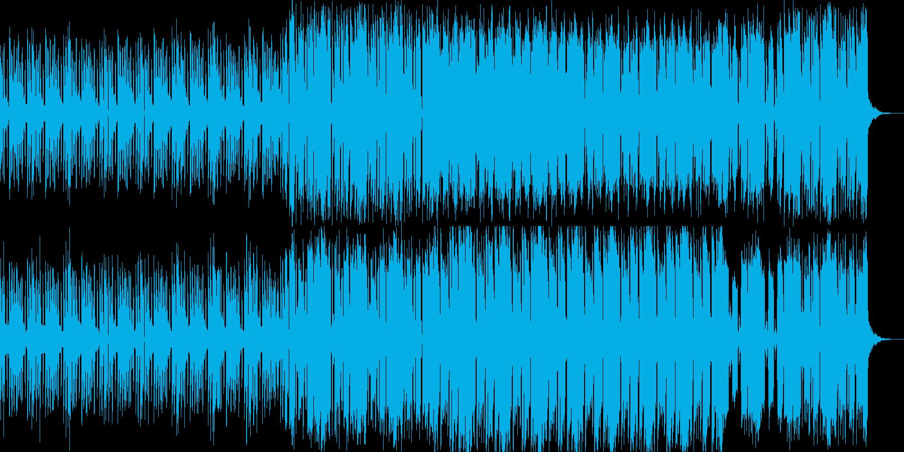 クールでスタイリッシュなエレクトロBGMの再生済みの波形
