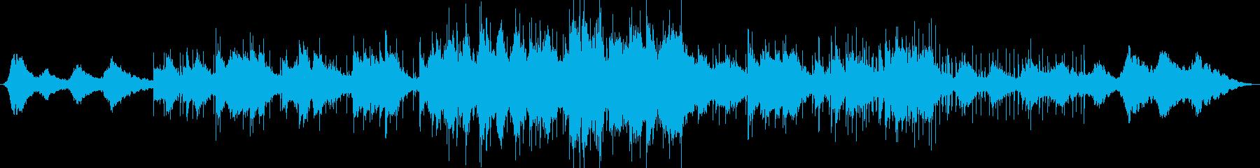 幻想的なイージーリスニングの再生済みの波形
