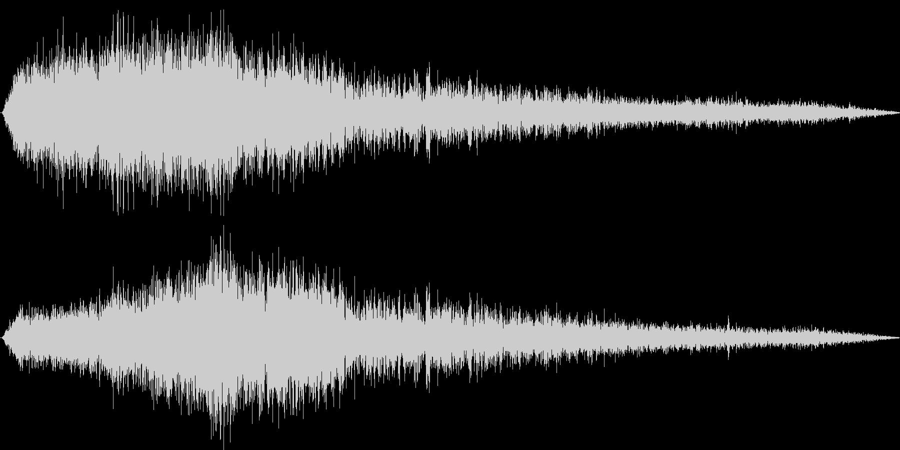 【環境音】飛行機の音03(羽田)の未再生の波形