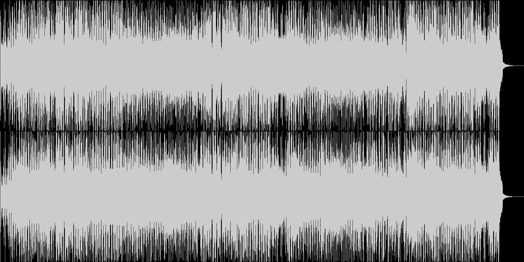 オープニングBGM 盛り上がる元気なスカの未再生の波形