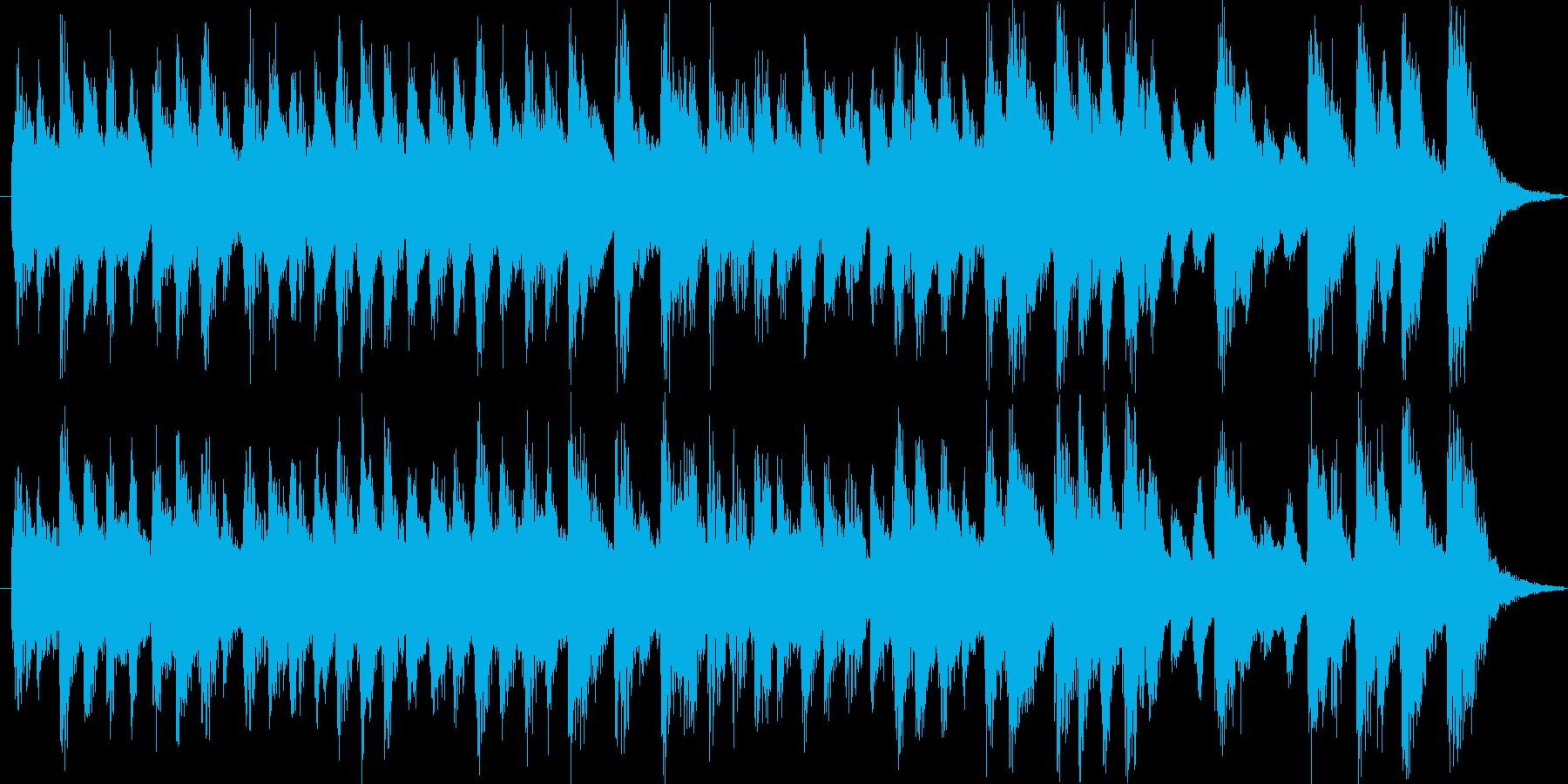 明るくポップで楽しいほのぼのBGMの再生済みの波形