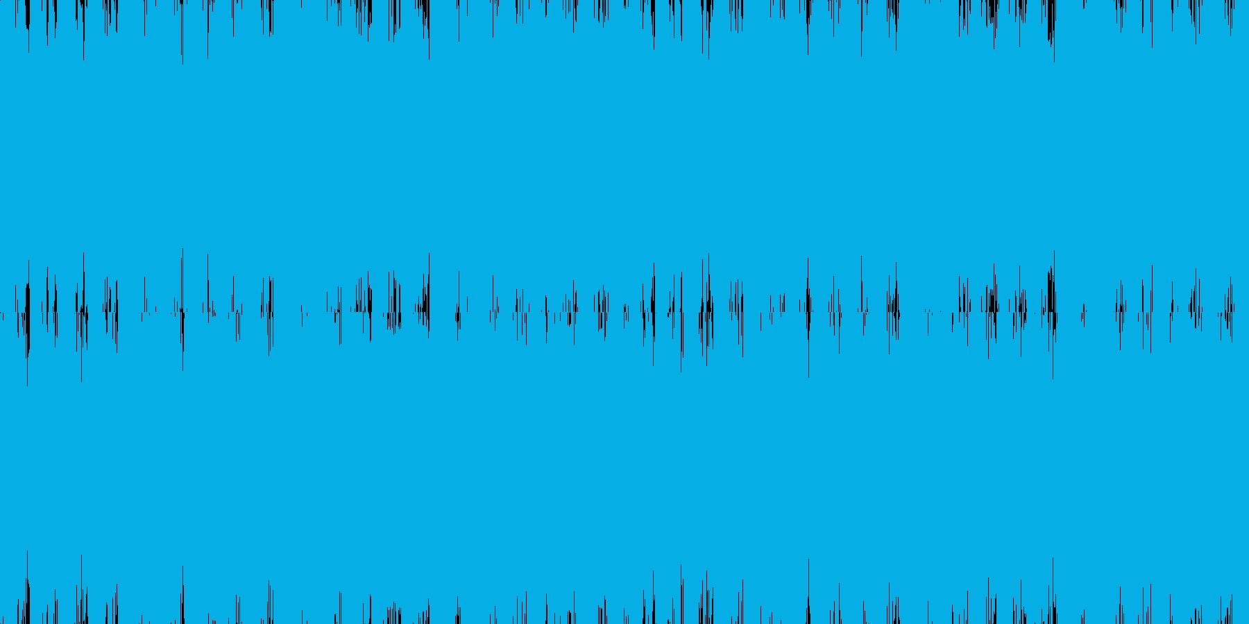 オーケストラ クワイヤー系 ループの再生済みの波形