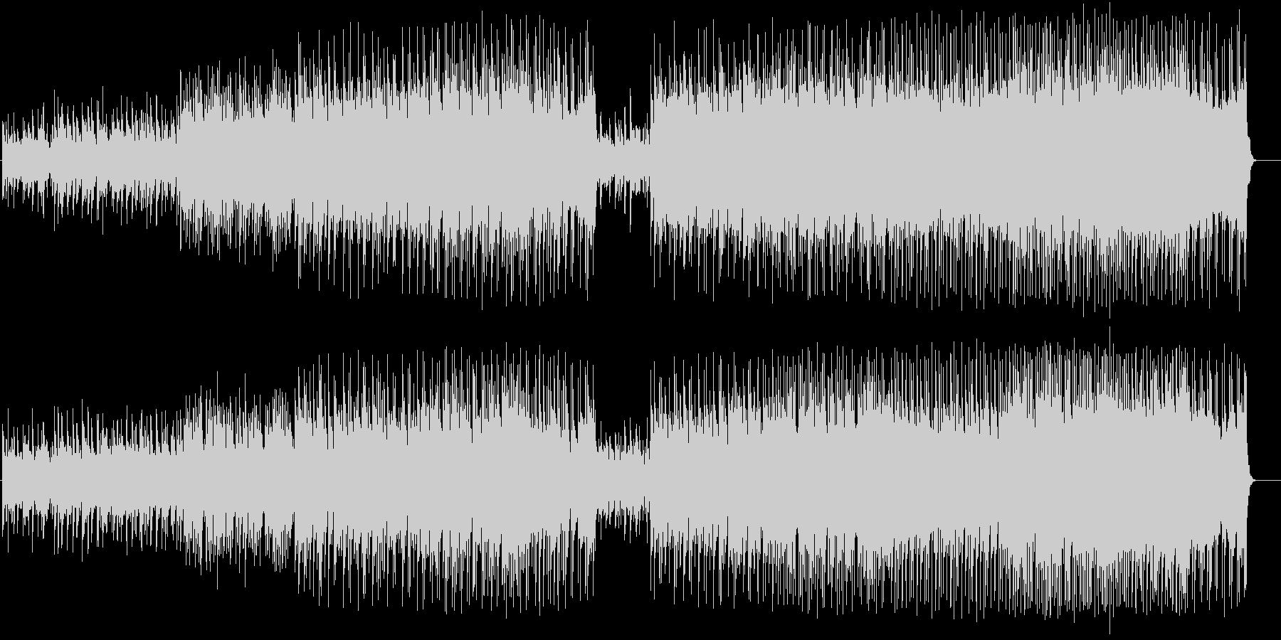 ナイーブなチャイニーズ風ポップ・バラードの未再生の波形
