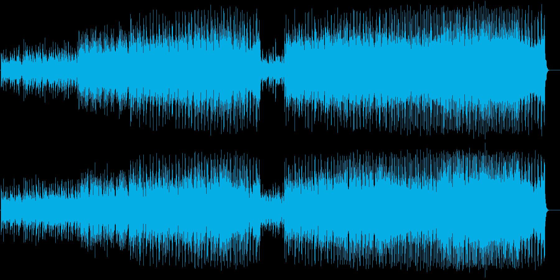 ナイーブなチャイニーズ風ポップ・バラードの再生済みの波形