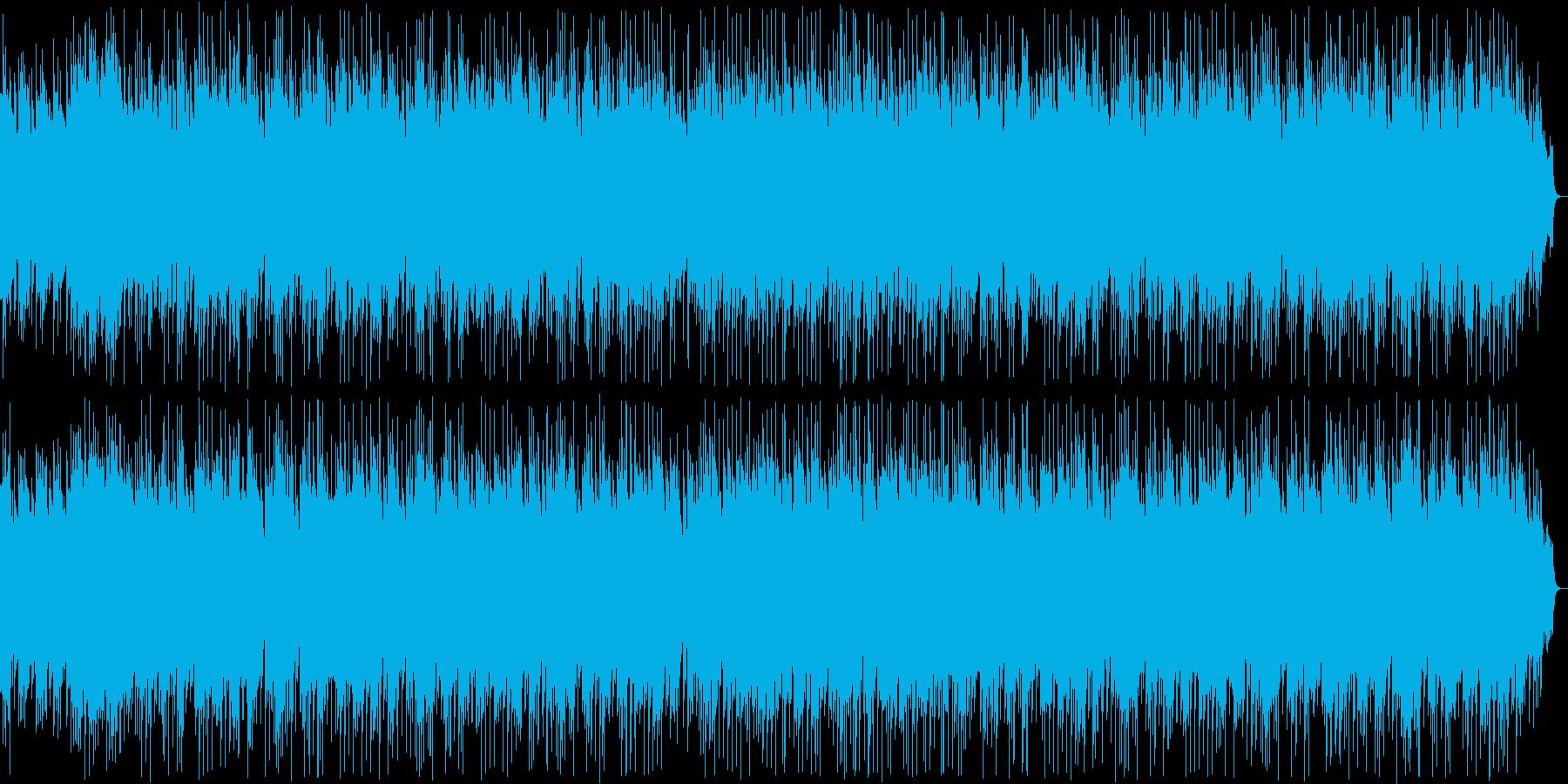 切ない和風なシンセ・弦楽器サウンドの再生済みの波形