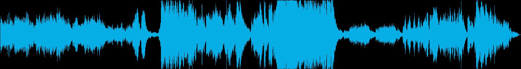 ハロウィン、映画用壮大ホラーオーケストラの再生済みの波形