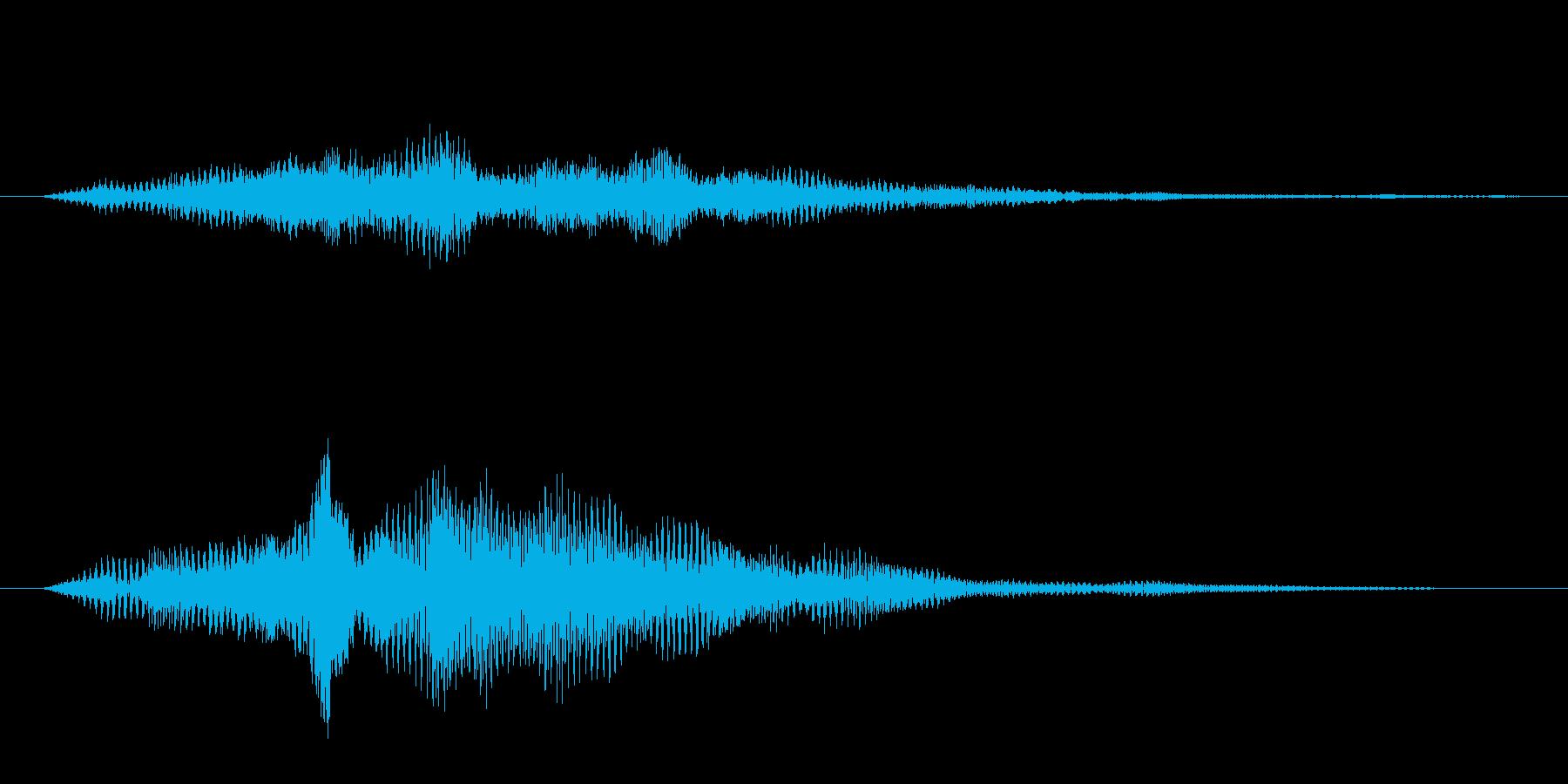 フワーン(パッド)の再生済みの波形