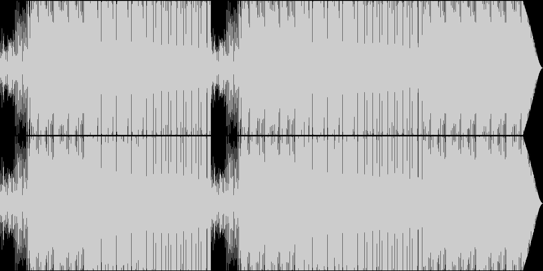 70'~80'年代のディスコ風07の未再生の波形