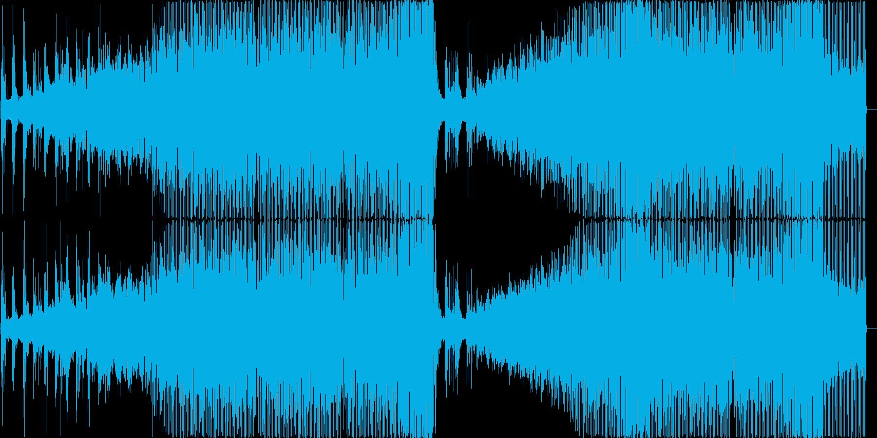 軽快さと情熱を表現したハウスミュージッ…の再生済みの波形