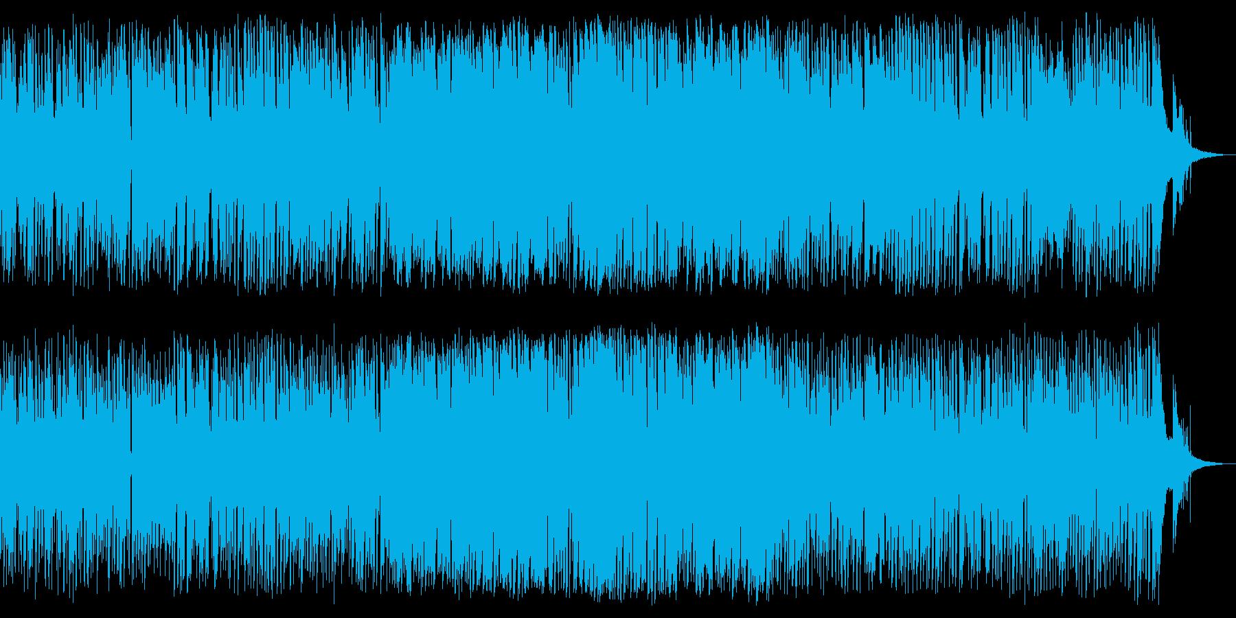 酒場の雰囲気のJazz Bluesですの再生済みの波形