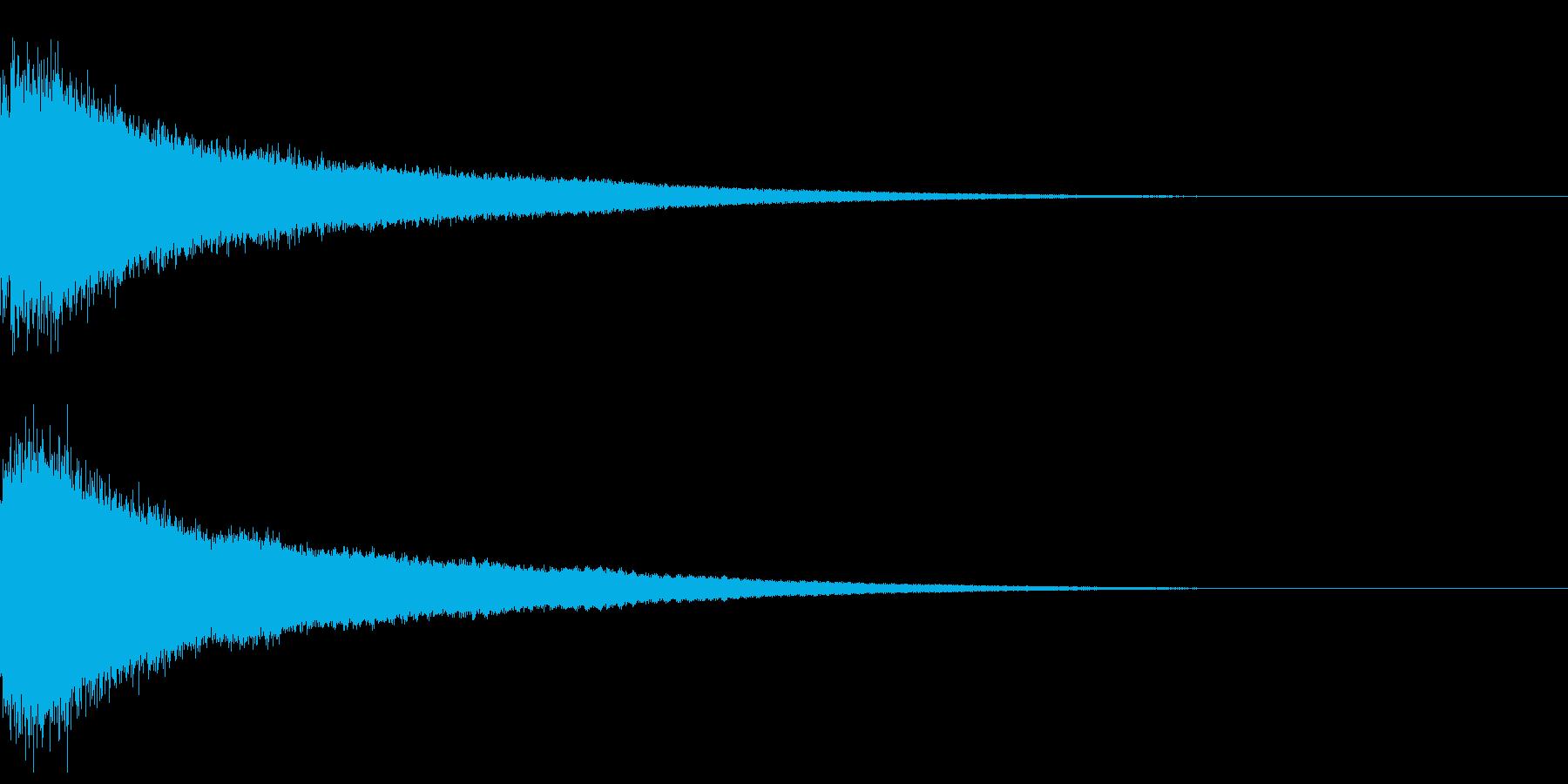 【チャイナシンバル ゴング】中国演出!4の再生済みの波形