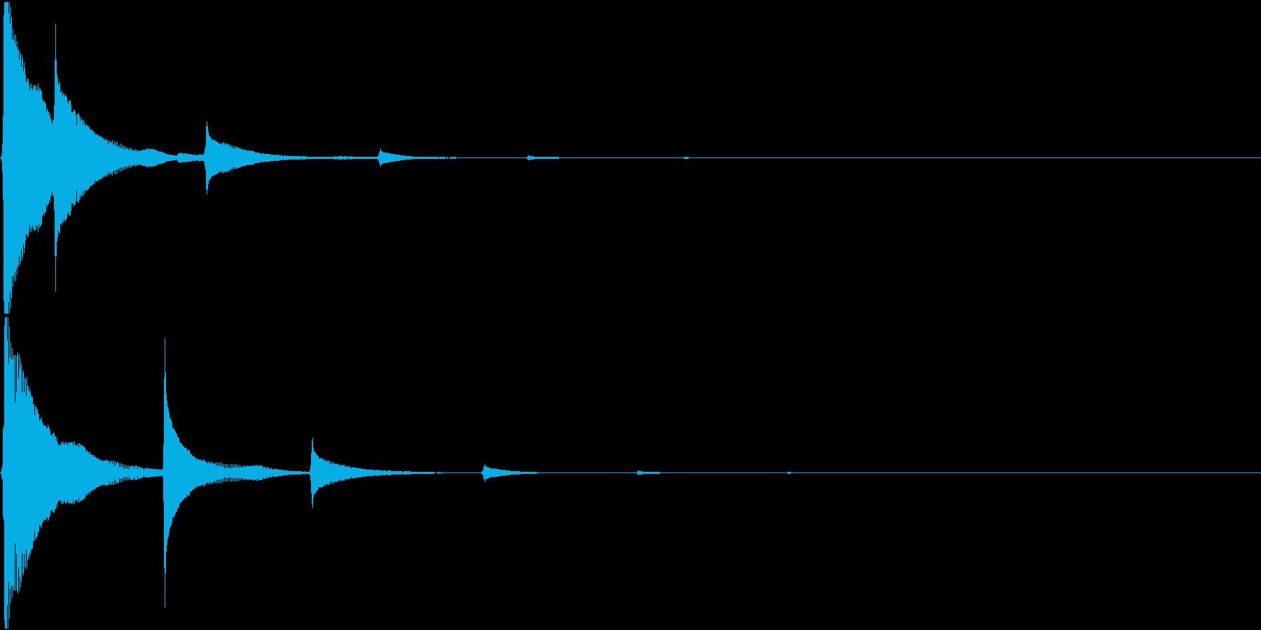 RPG 毒・麻痺攻撃のSE ビヨビヨ 3の再生済みの波形