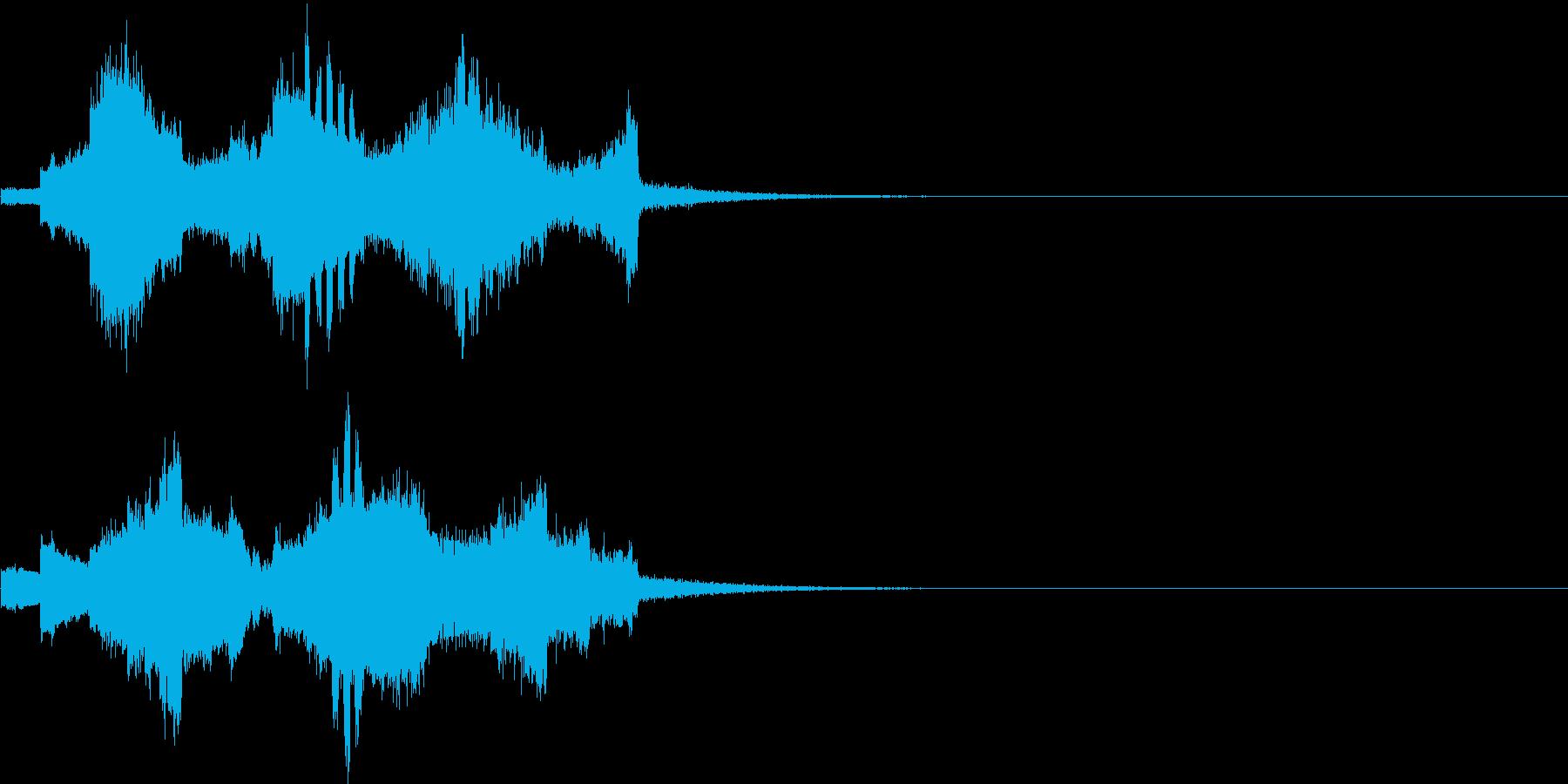 #銃っぽい音#雑踏の音#近代的の再生済みの波形