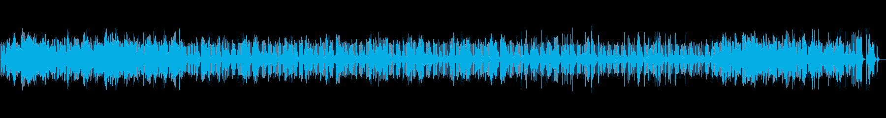 ショパン夜想曲1番のオルゴールの再生済みの波形