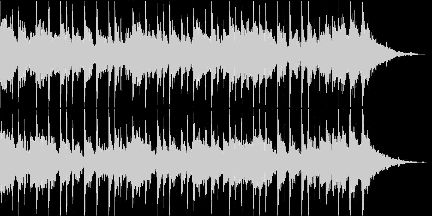 明るいジングルの未再生の波形