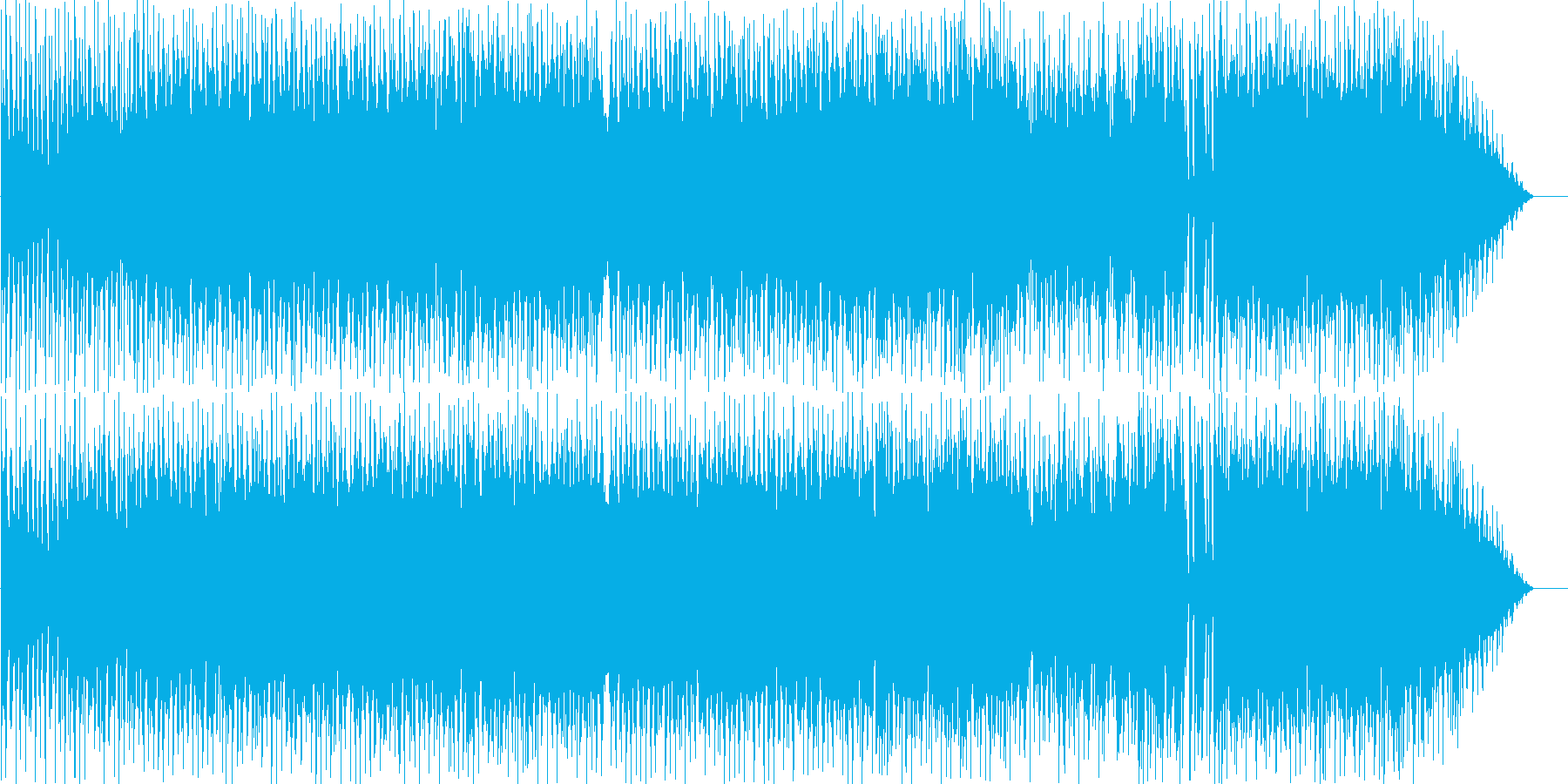タム回しが印象的なポップロックの再生済みの波形