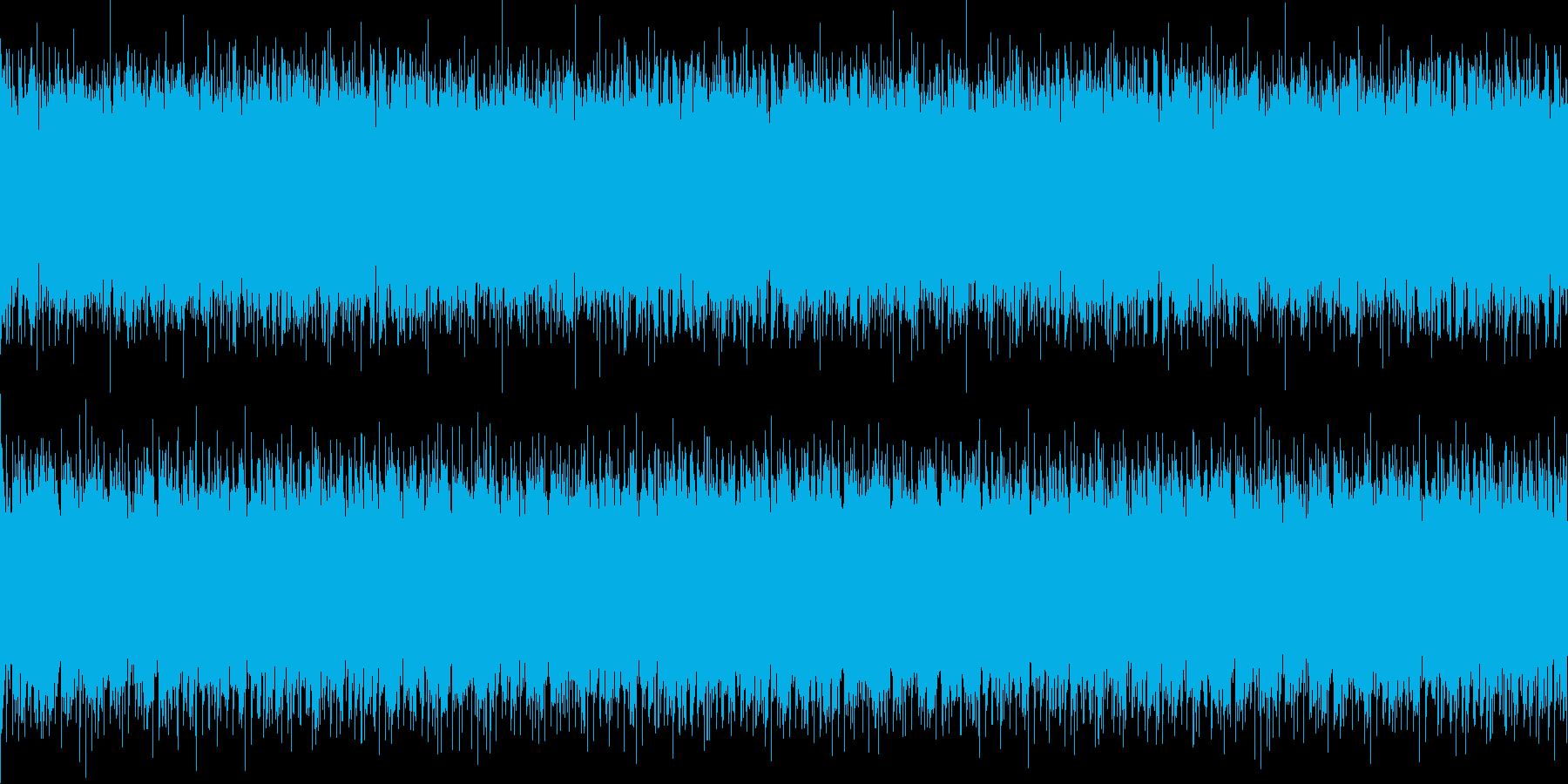【テクノ■幻想的なピアノ旋律(ループ)】の再生済みの波形