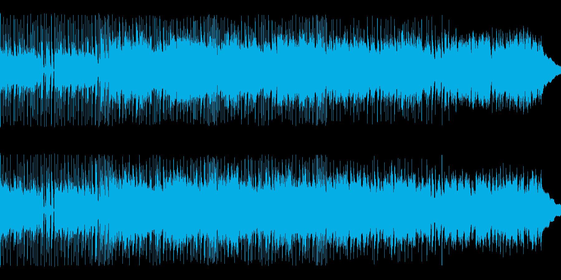 BGM015-01 90秒のピアノとギ…の再生済みの波形
