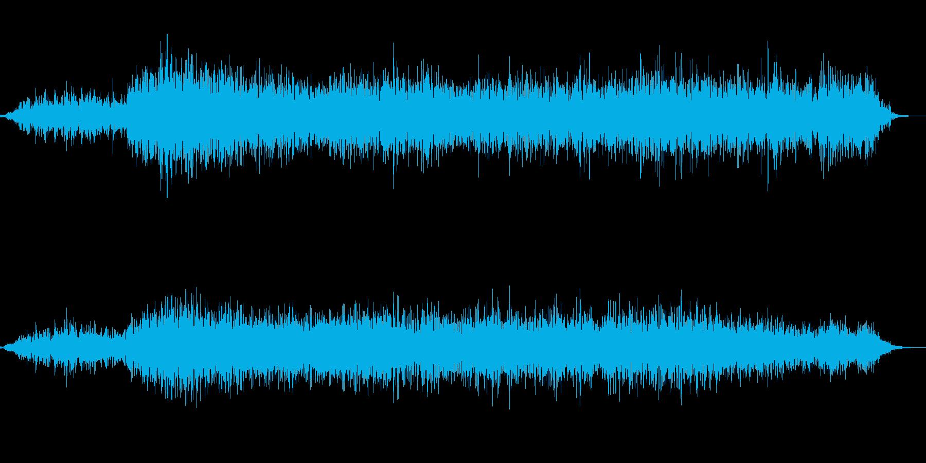 スプレーを吹き付ける(シューッ)の再生済みの波形