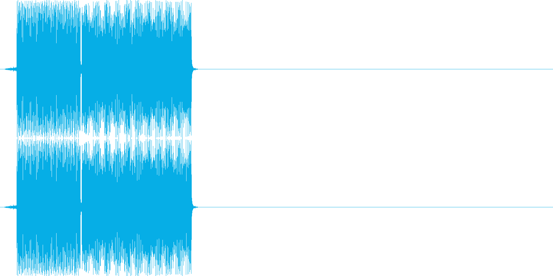 ピポッ(PC、決定音)の再生済みの波形