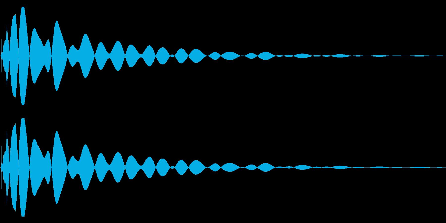 EDMやIDM系のバスドラム! 07bの再生済みの波形