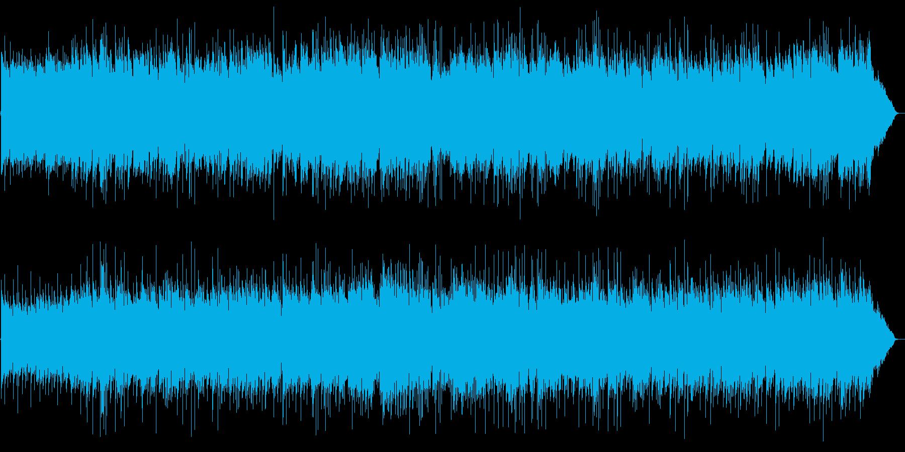 穏やかで優雅なアコギサウンドの再生済みの波形