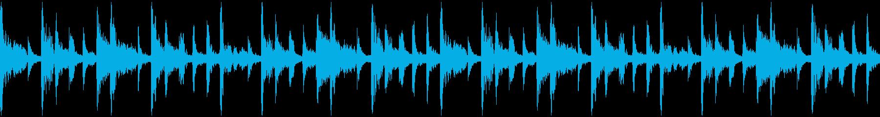インド系楽器によるループの再生済みの波形