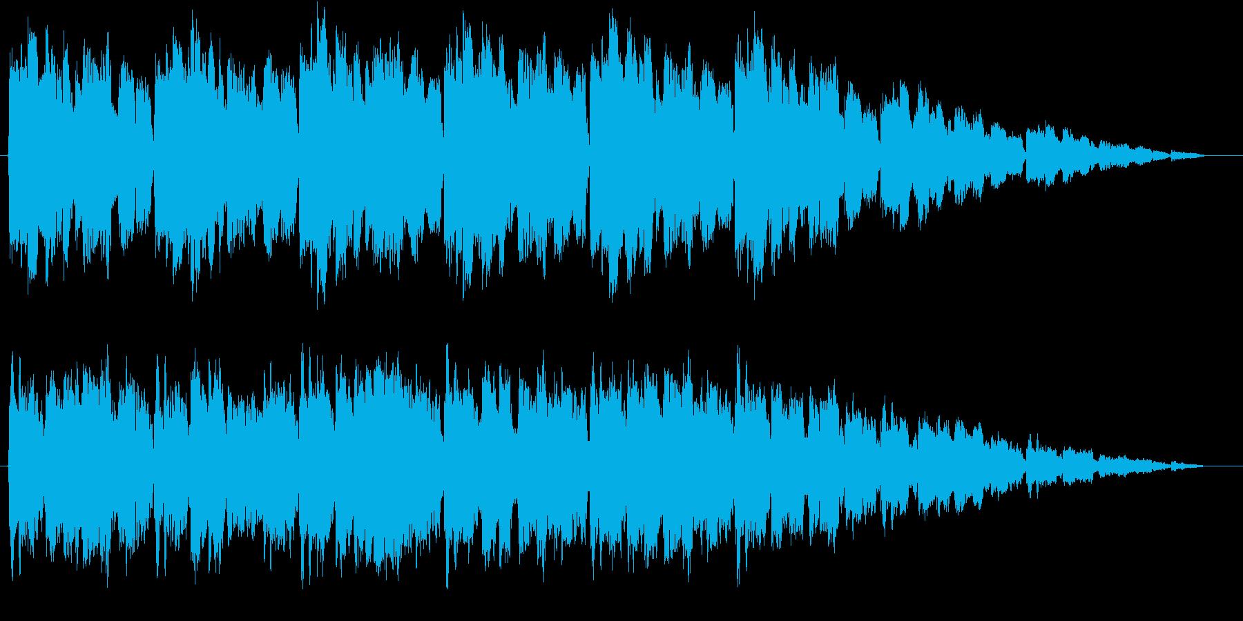 Aギター生演奏、シンプルで穏やかな口笛との再生済みの波形