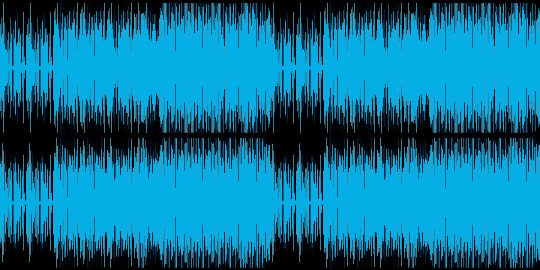 【不気味でダークなダブステップ】の再生済みの波形