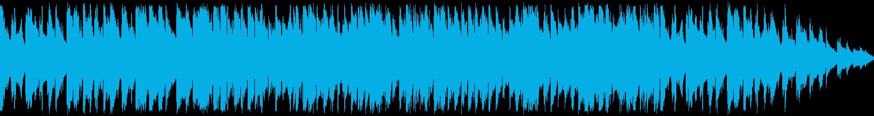おしゃれなジャズポップス系BGMの再生済みの波形