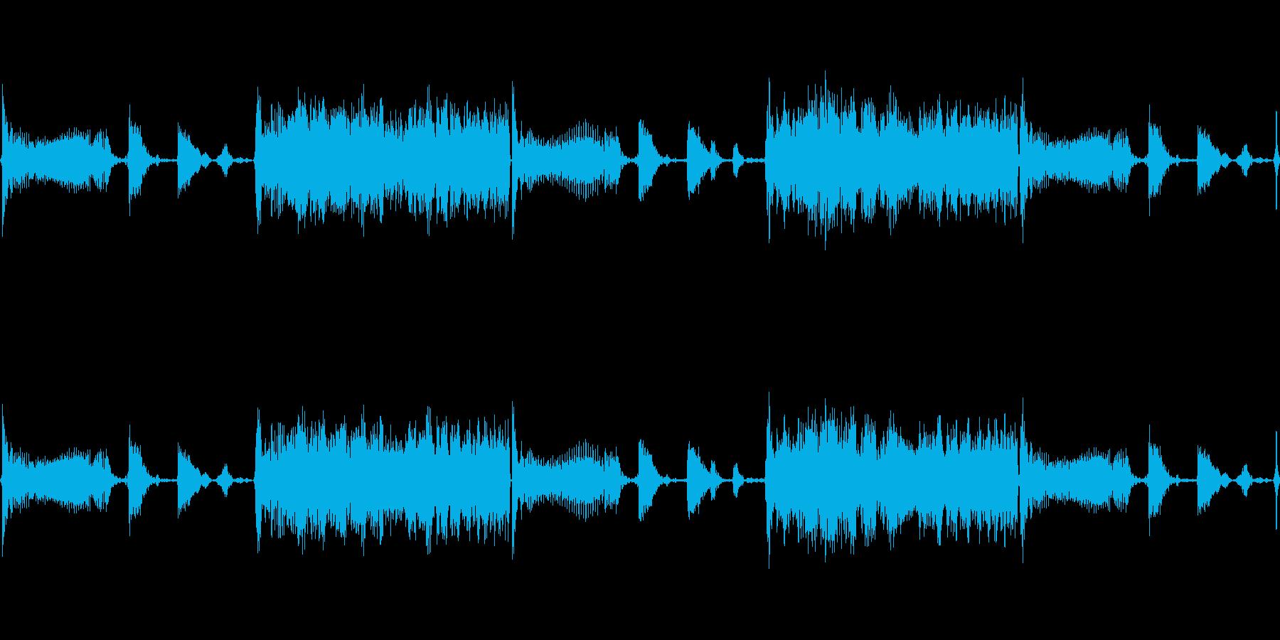 LIVEの曲間のつなぎのTRACKの再生済みの波形