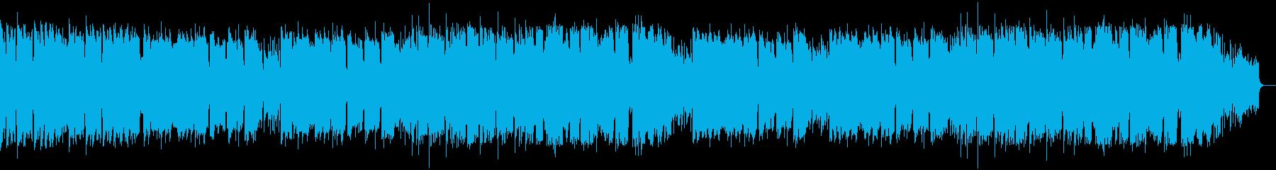 トランペットとピアノのメロディアスな楽曲の再生済みの波形