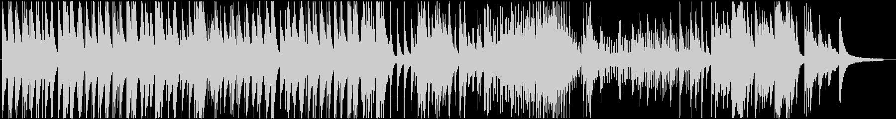 高音が美しい現代音楽的なピアノバラードの未再生の波形