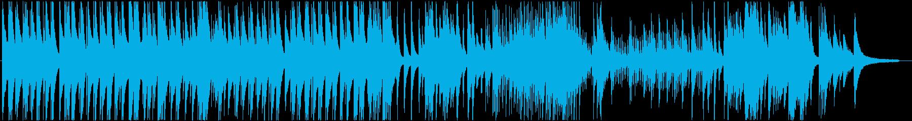高音が美しい現代音楽的なピアノバラードの再生済みの波形