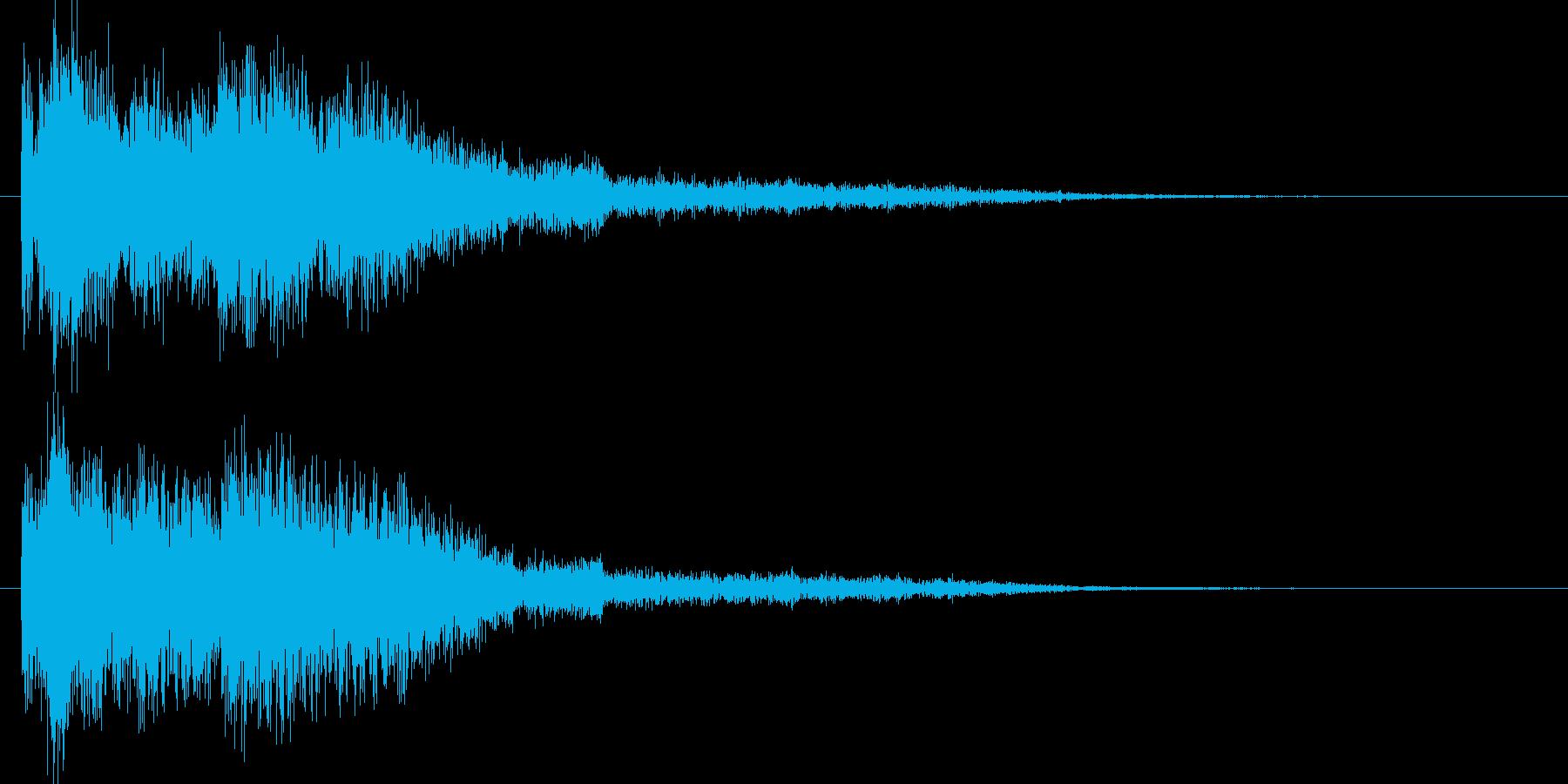和風クリックジングルアイキャッチ神秘の再生済みの波形