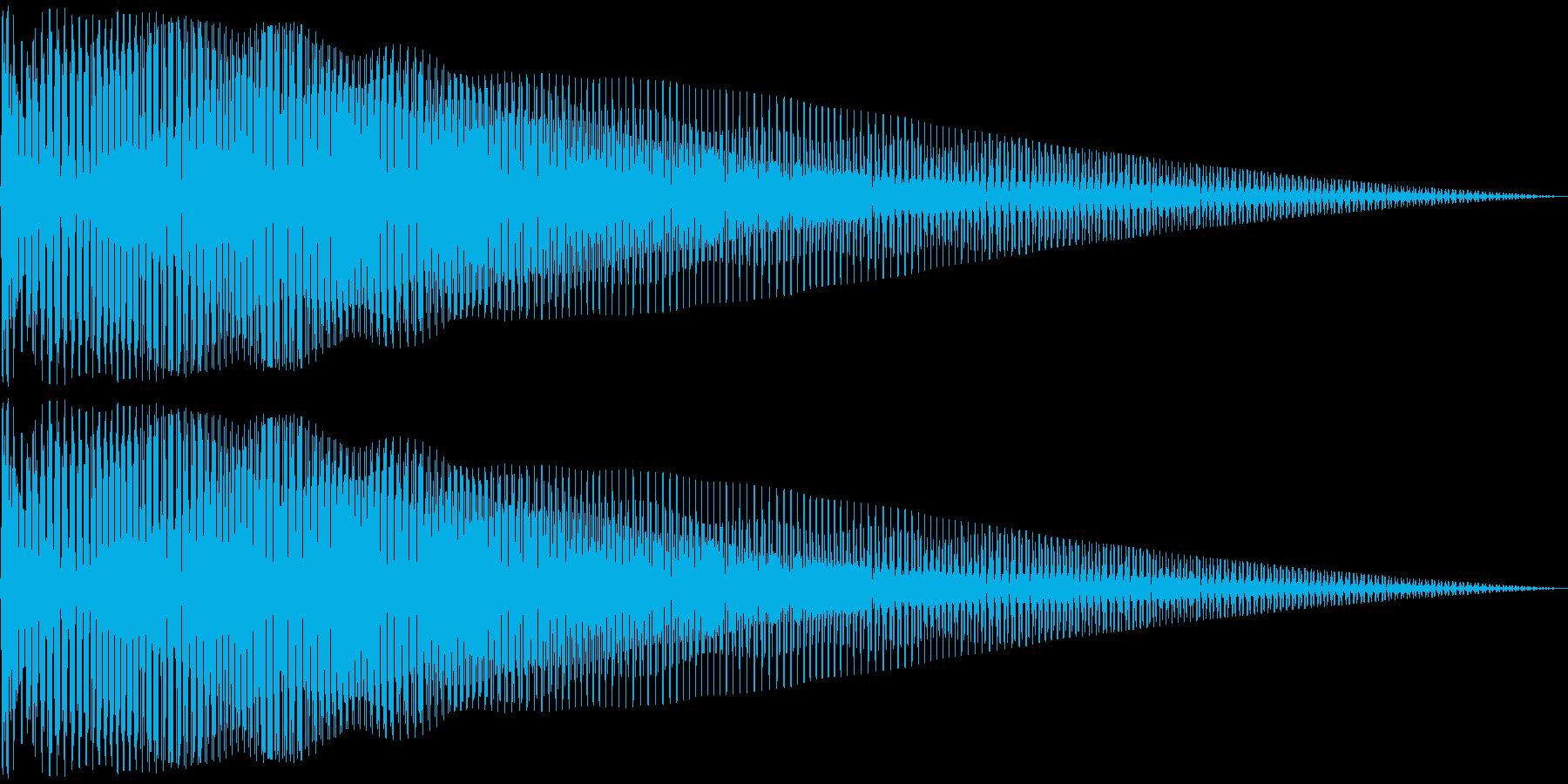 びよよよーん(ベース低音)動画系などの再生済みの波形