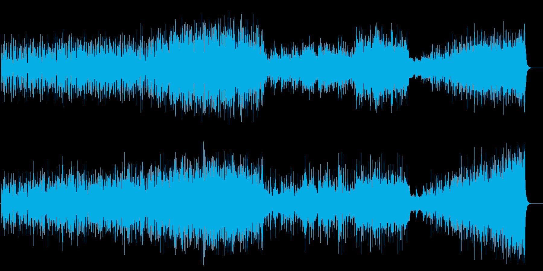 洗練した大人のマイナージャズフュージョンの再生済みの波形