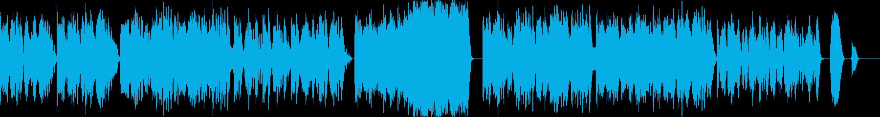 ピコピコ系なのに穏やかで優しい曲の再生済みの波形