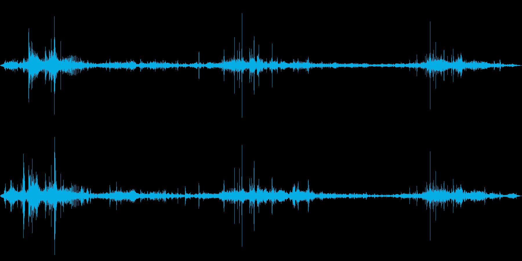 食べ物を食べる/かじる/噛む,効果音06の再生済みの波形